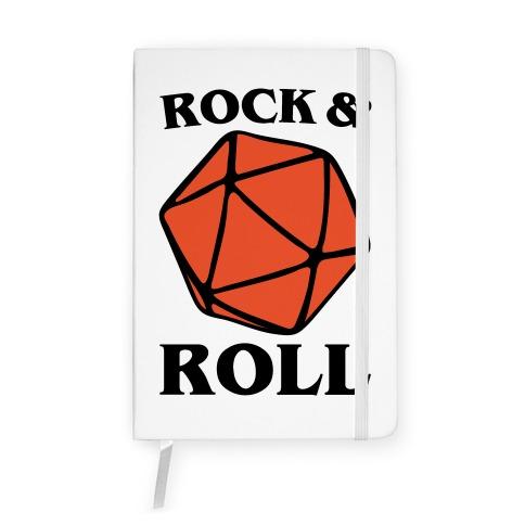 Rock and Roll D & D Parody Notebook