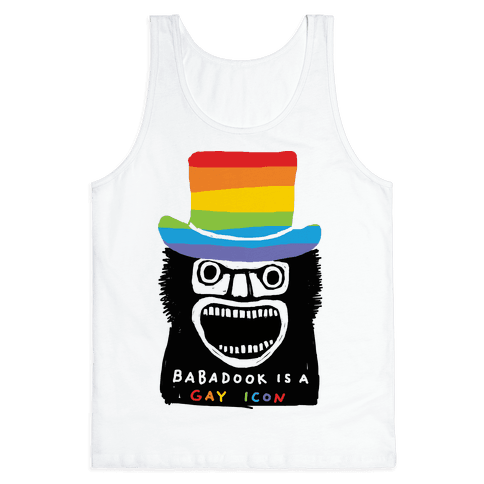 Babadook Is A Gay Icon Tank Top