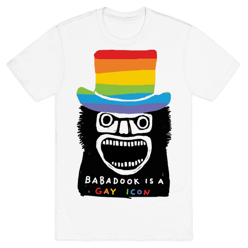 Babadook Is A Gay Icon Mens T-Shirt