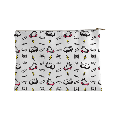 Cool Cats Pattern Accessory Bag