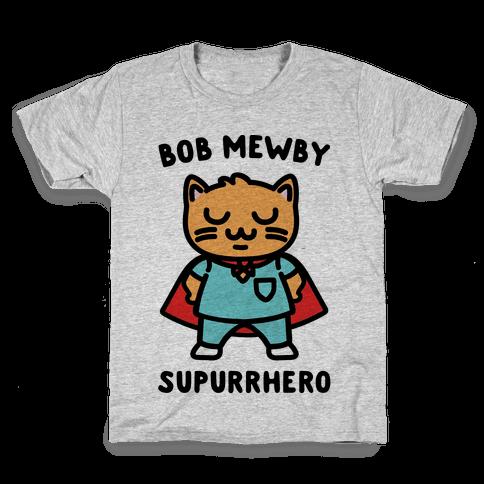 Bob Mewby Parody Kids T-Shirt