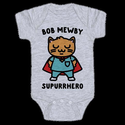 Bob Mewby Parody Baby Onesy