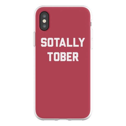 Sotally Tober Phone Flexi-Case