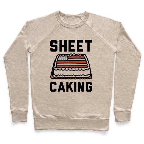 Sheet Caking  Pullover