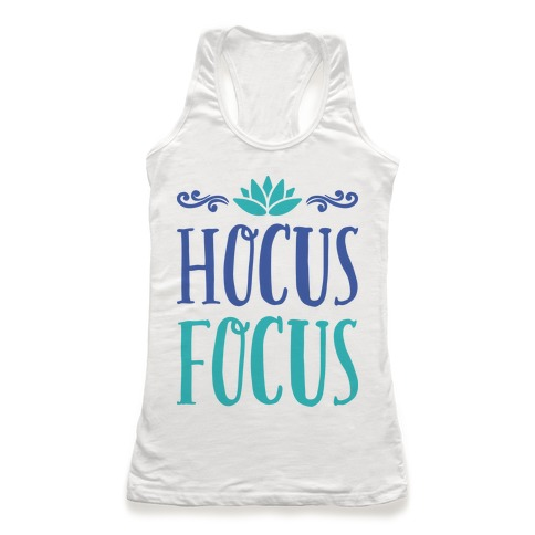 Hocus Focus Yoga Racerback Tank Top