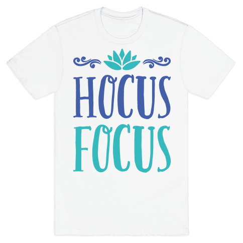 Hocus Focus Yoga Mens T-Shirt