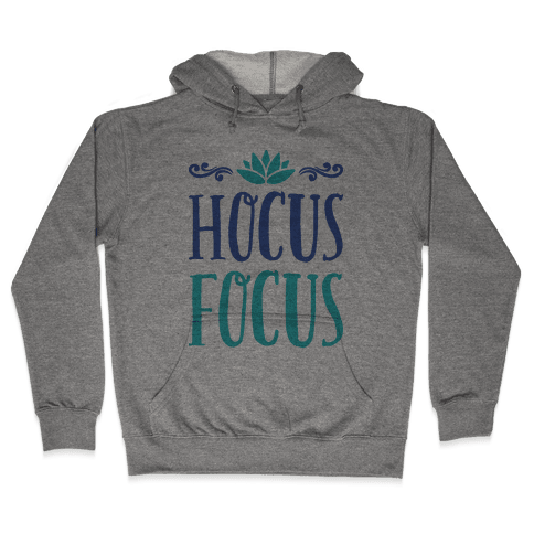 Hocus Focus Yoga Hooded Sweatshirt