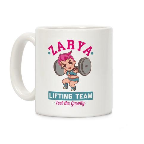 Zarya Lifting Team Coffee Mug