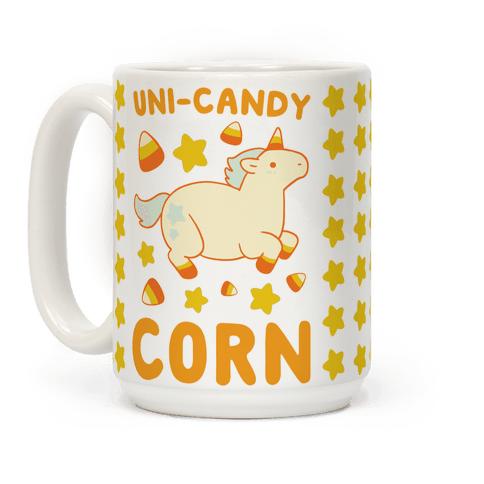 Uni-Candy Corn Coffee Mug