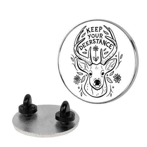 Keep Your Deerstance Pin