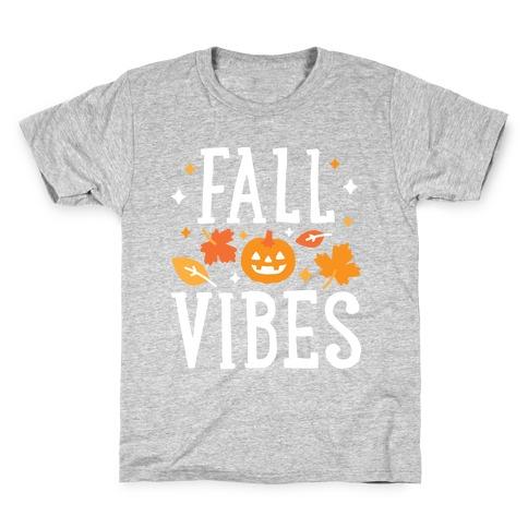 Fall Vibes Kids T-Shirt