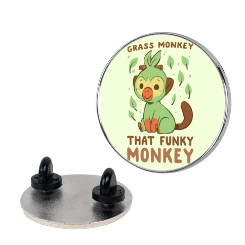 Grass Monkey, That Funky Monkey - Grookey Pin
