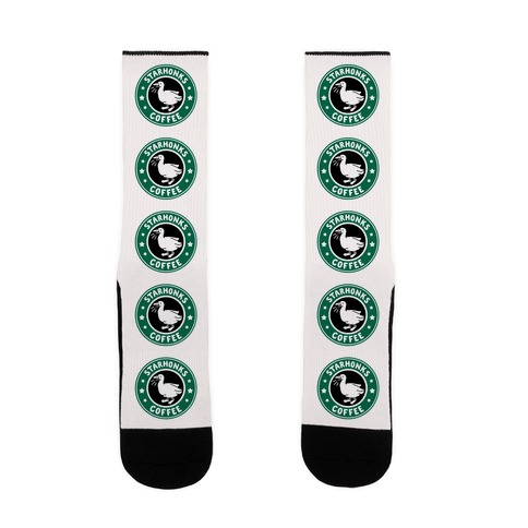 Starhonks Coffee Parody Sock