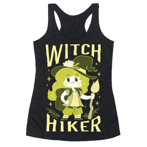 Witch Hiker Racerback Tank Top