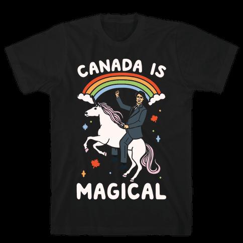 Canada Is Magical White Print