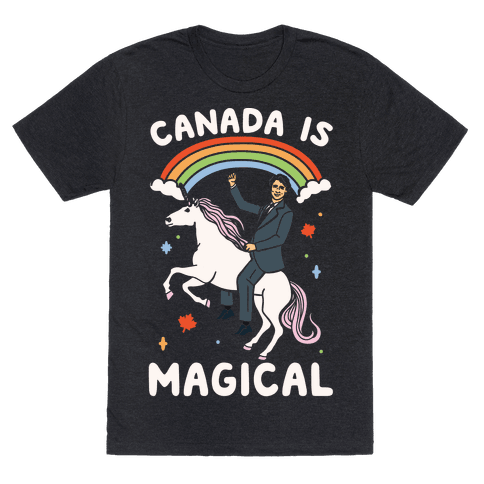 Canada Is Magical White Print