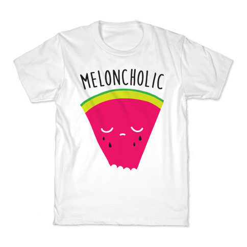 Meloncholic Watermelon Kids T-Shirt