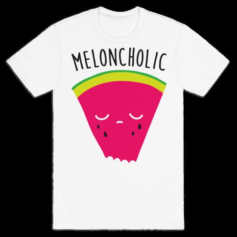 Meloncholic Watermelon Mens T-Shirt