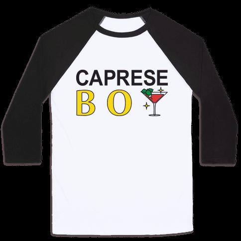 Caprese Boy Baseball Tee