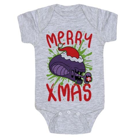 Merry Xmas Baby Onesy