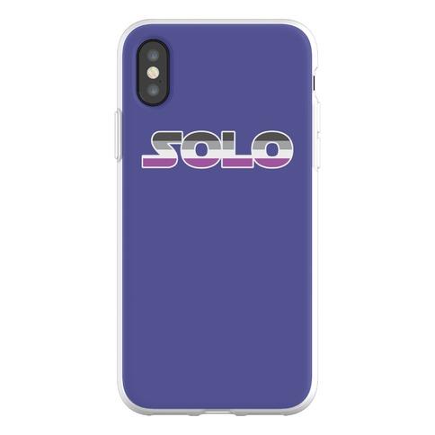 Solo (Asexual) Phone Flexi-Case