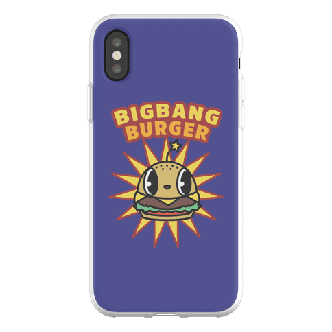 Big Bang Burger Phone Flexi-Case