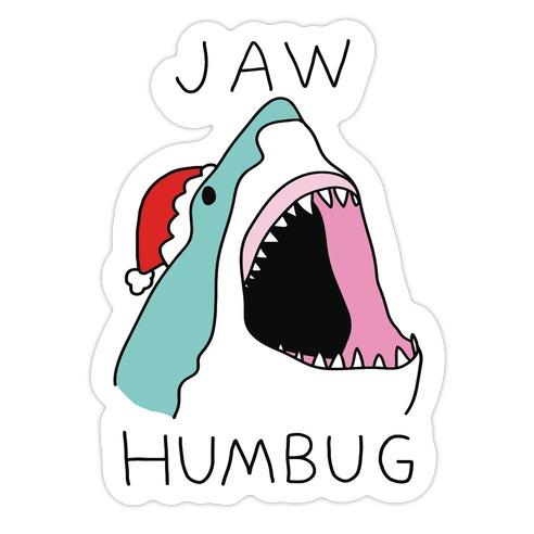Jaw Humbug Die Cut Sticker