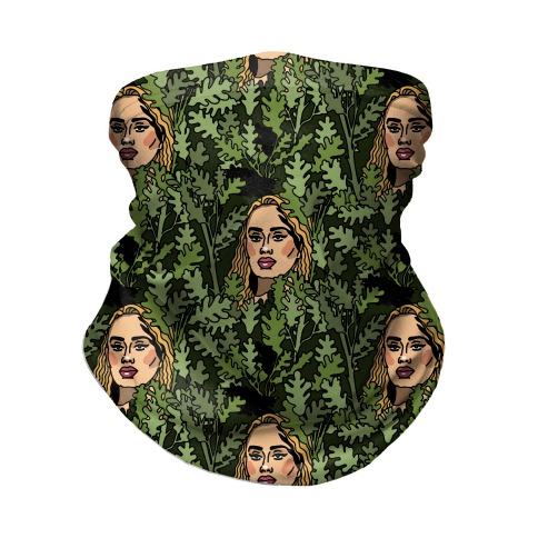 Rolling In The Trees Parody Neck Gaiter