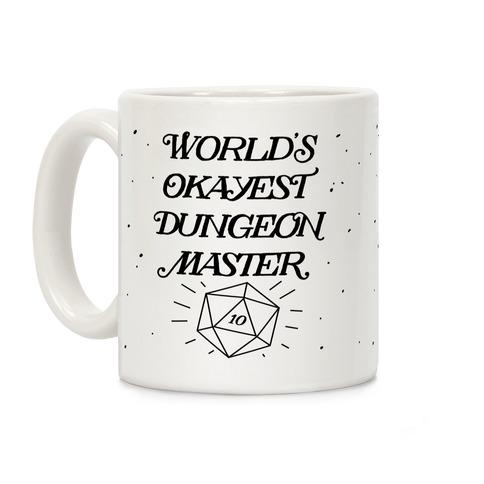 World's Okayest Dungeon Master Coffee Mug