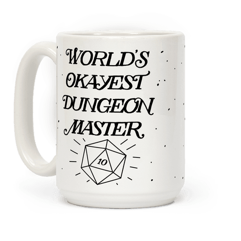 World's Okayest Dungeon Master Coffee Mug