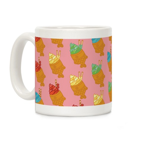 Taiyaki Pattern Coffee Mug