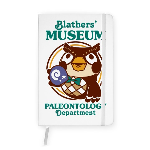Blathers' Museum Paleontology Department Notebook