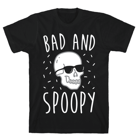 Bad And Spoopy Mens T-Shirt