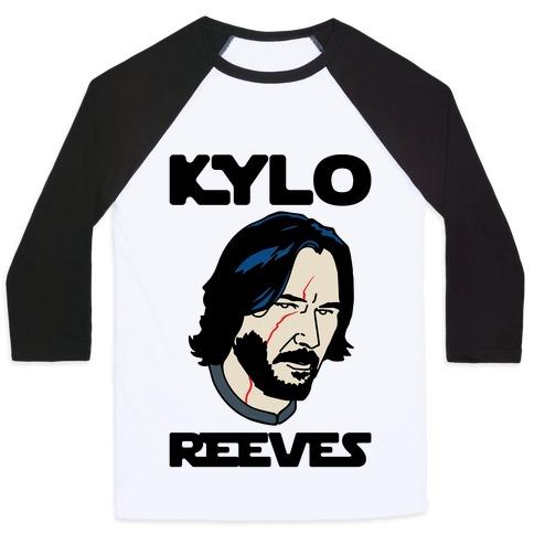 Kylo Reeves Parody Baseball Tee