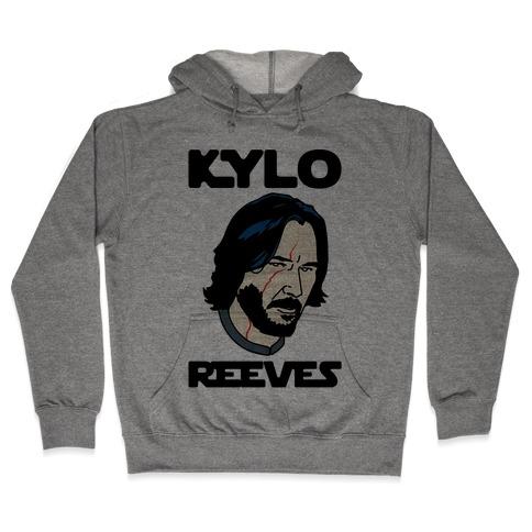 Kylo Reeves Parody Hooded Sweatshirt