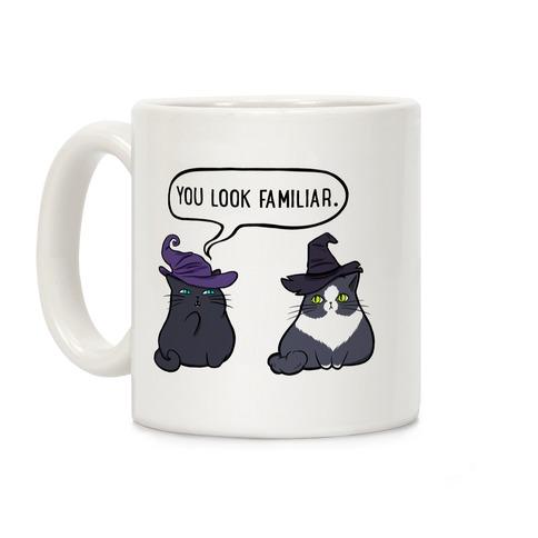 You Look Familiar Coffee Mug
