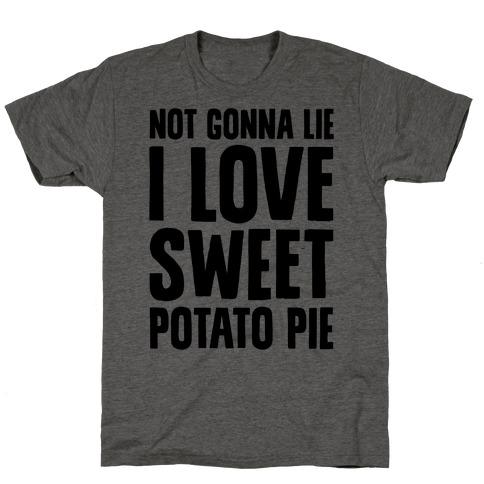 Not Gonna Lie I Love Sweet Potato Pie T-Shirt