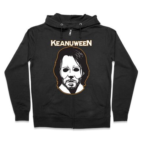 Keanuween - Keanu Halloween Zip Hoodie