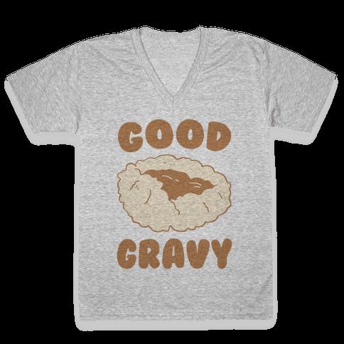 Good Gravy V-Neck Tee Shirt