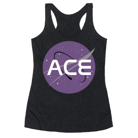 Ace Nasa  Racerback Tank Top