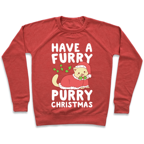 Have a Furry, Purry Christmas  Pullover