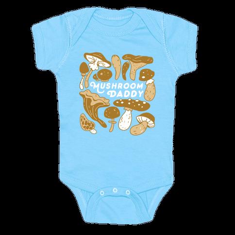 Mushroom Daddy Baby One-Piece