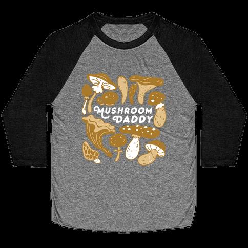 Mushroom Daddy Baseball Tee
