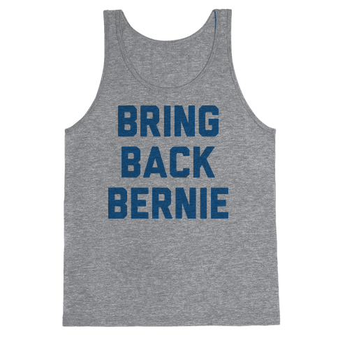 Bring Back Bernie Tank Top