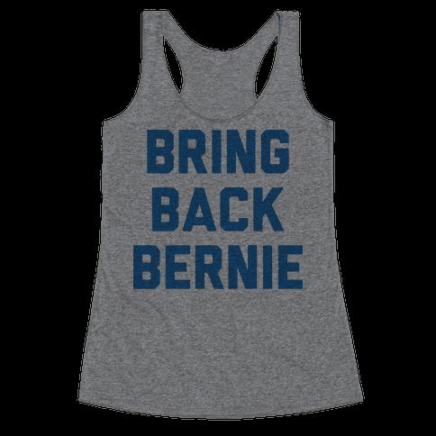 Bring Back Bernie Racerback Tank Top