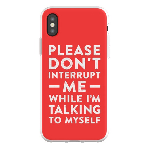 If It Tickles Your Nuts Go For It Phone Flexi-Case