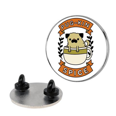 Pugkin Spice pin