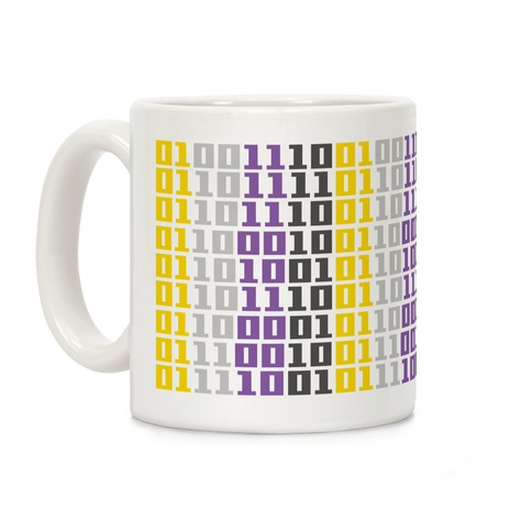 Non-Binary Code Coffee Mug