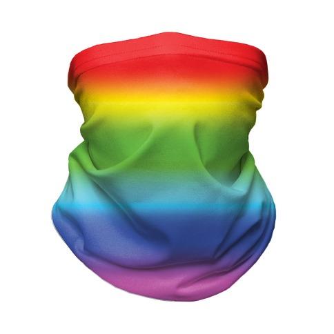 Rainbow Gradient Neck Gaiter