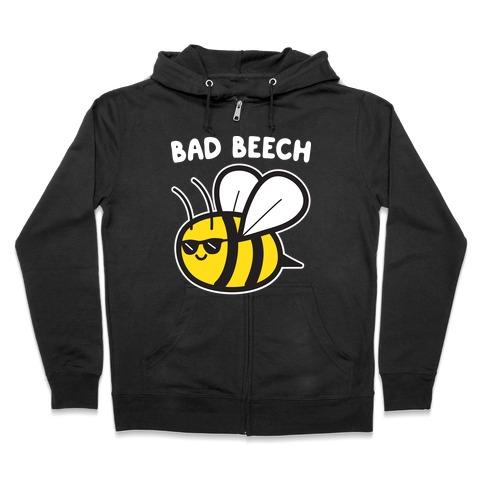 Bad Beech Bee Zip Hoodie